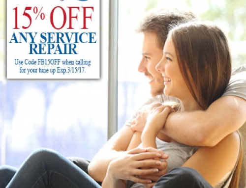 Save 15% off Any Service Now